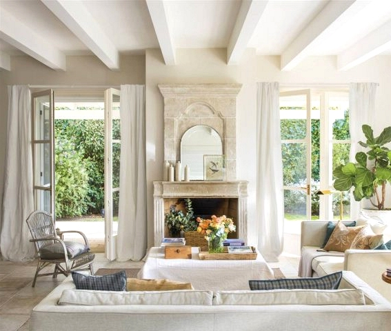 Magical Living Rooms With A Fireplace (Part I)