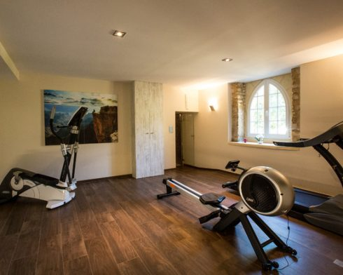 Artistic Home GYM Idea
