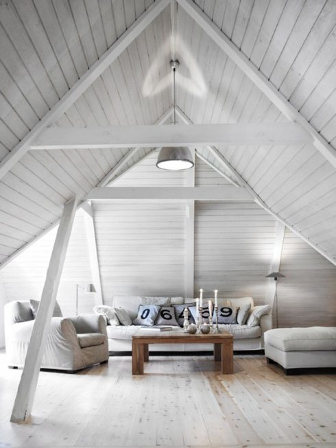 Attic Interior Decor 1