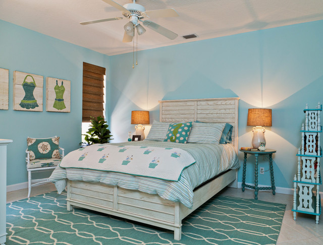 Beach Style Design Bedroom Idea