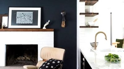 Daring Black Accent Wall Concepts