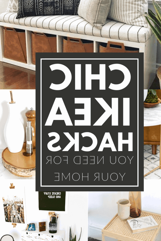 Chic IKEA hacks you need for your home