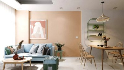 Combining Calming Colors To Make Restful Trendy Interiors