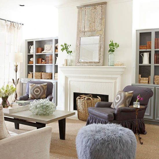 Image Gallery Modern Country Living Room