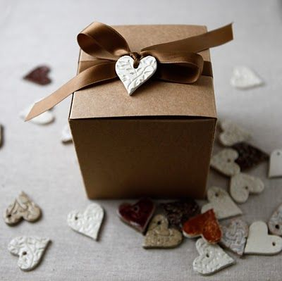 Decorative Hearts wrapping ideas