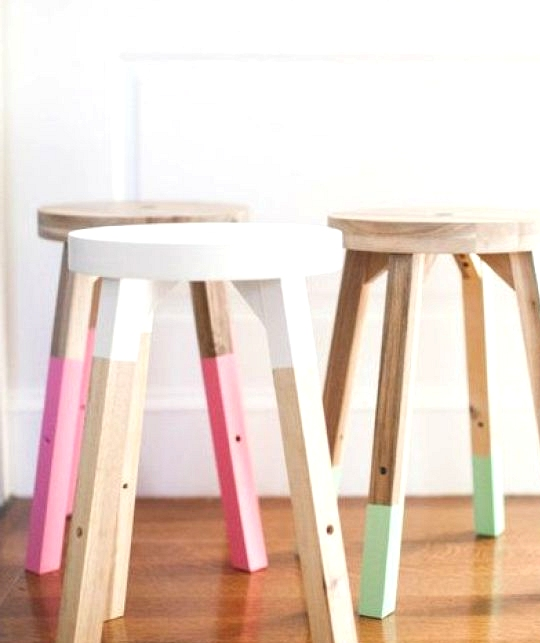 Easy IKEA hacks using spray paint #Ikeahack #DIYhomedecor