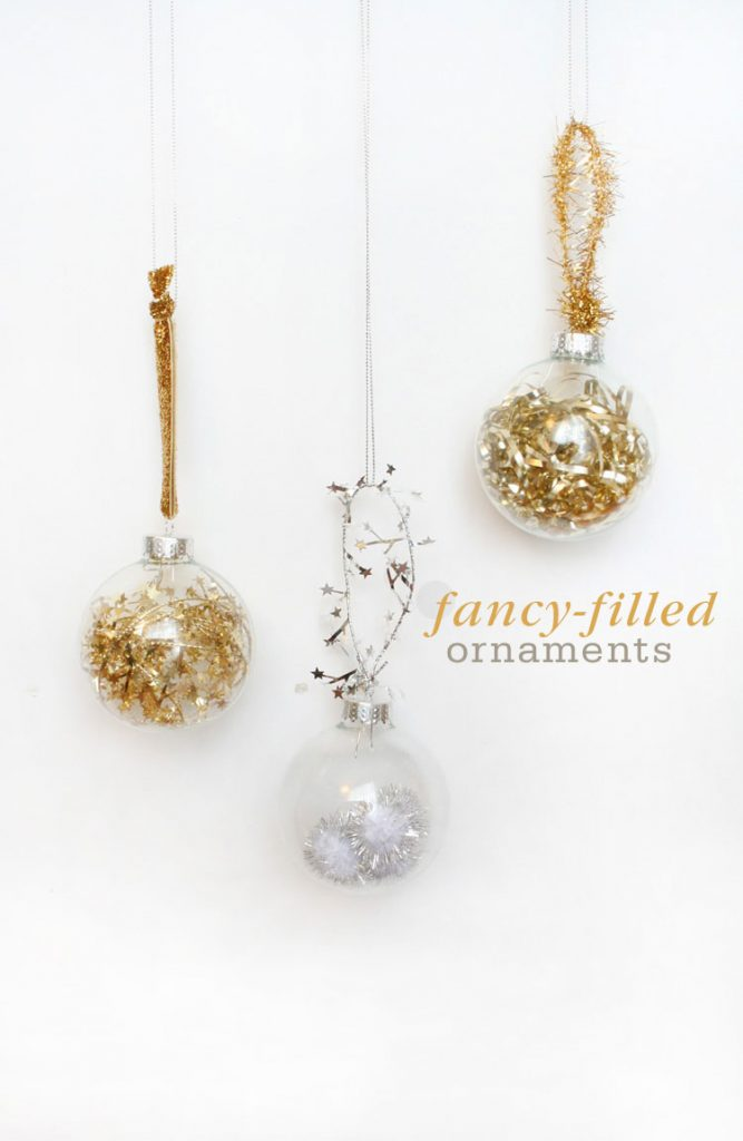 Fancy Filled Ornaments