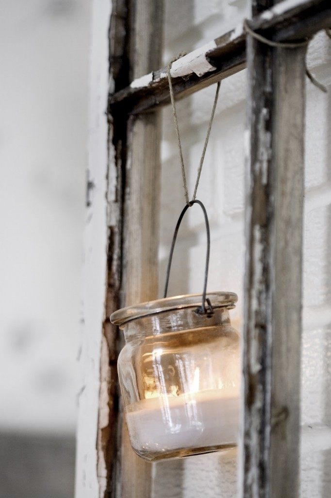 Hanging Candle Jar