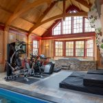 Home Gym Idea with Pool