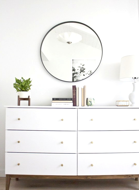 IKEA Dresser Hack Inspired by West Elm.