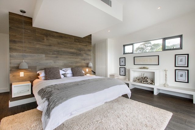 Lightful Contemporary Bedroom