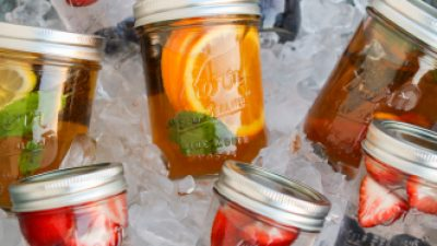 DIY Mason Jar Teas