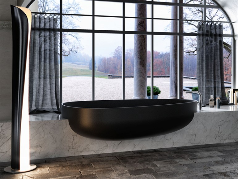 Modern Bathtub Window