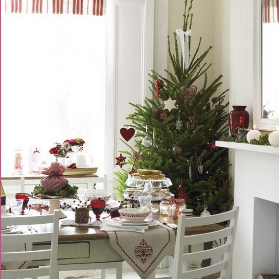 17 Best Ideas About Christmas Dining Rooms On Pinterest: Swanky Top 15 Christmas Designs