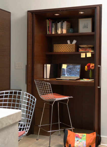 Modern and Elegant Home Office Design Idea
