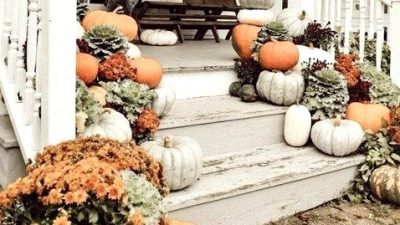 Out of doors Fall Adorning Concepts For Your Entrance Porch