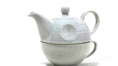 Product Of The Week: Star Wars Demise Star Teapot And Cup
