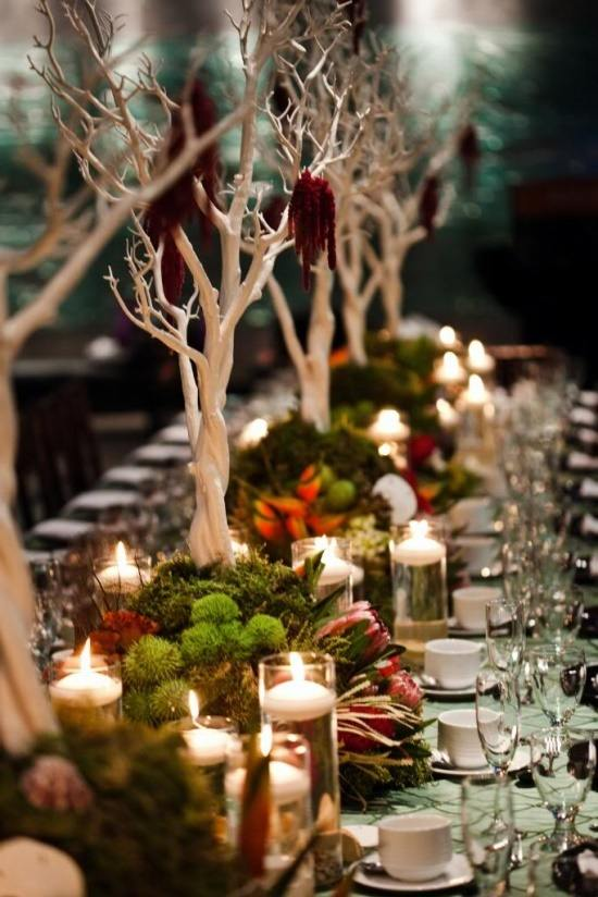 Rustic Elegant Table Decor