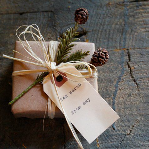 Small Gift Box wrapping idea