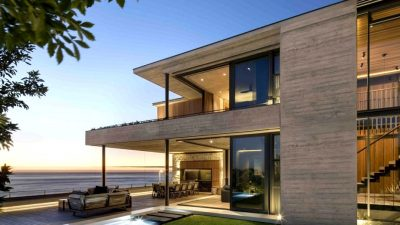 Stacked Luxurious Dwelling Design On Cape City's Atlantic Seaboard