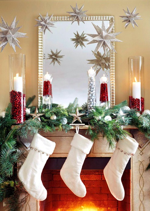 fireplace-mantel-stars