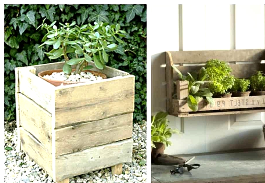 #28. THE CLASSICAL WOODEN PLANTER
