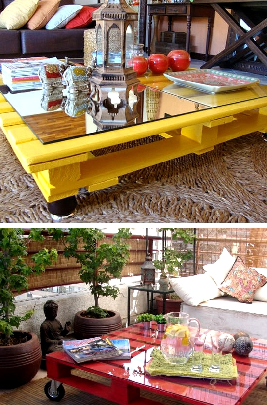 #40. COLORFUL MODERN COFFEE TABLES