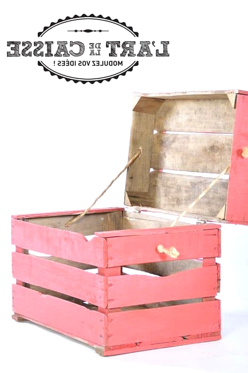 COLORFUL WOOD BOX
