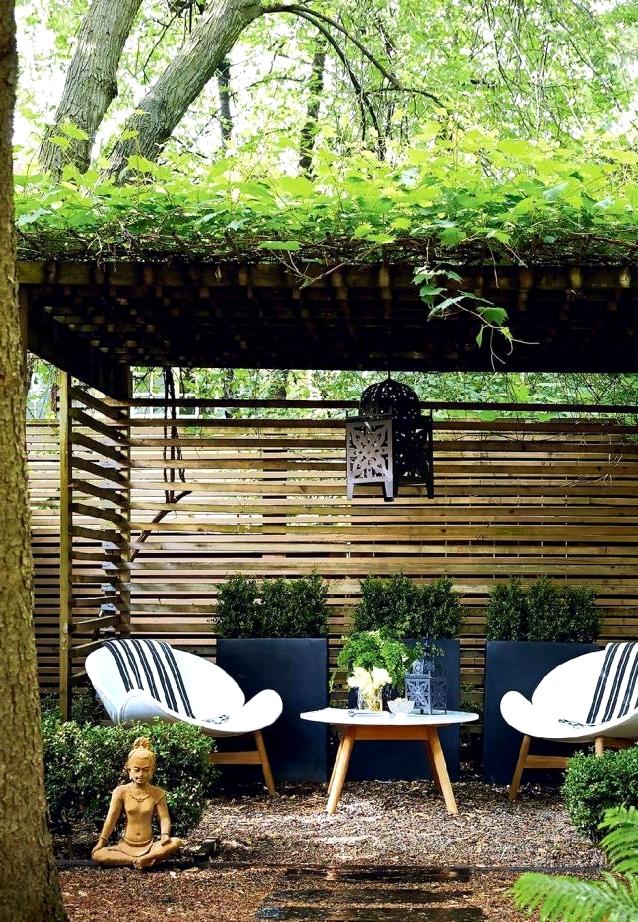Create your own backyard getaway with this zen outdoor design
