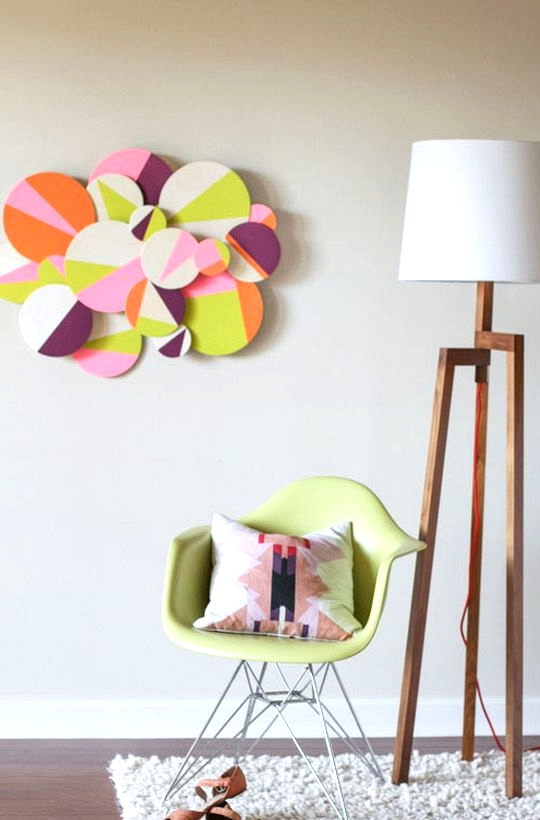 Beautiful Methods of Covering Your Blank Walls- DIY Wall Art Projects-homesthetics.net (19)