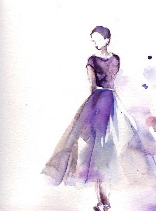 paint a gorgeous dress