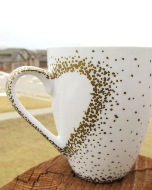 spectacykar diy craft project - sharpie mug