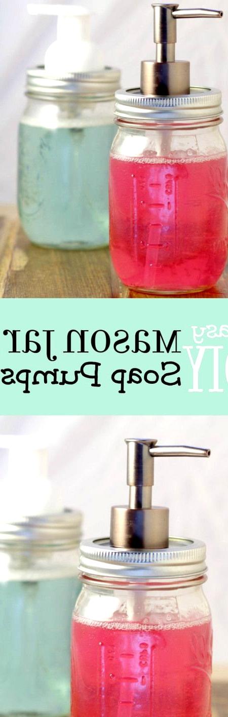 epic mason jar soap dispenser