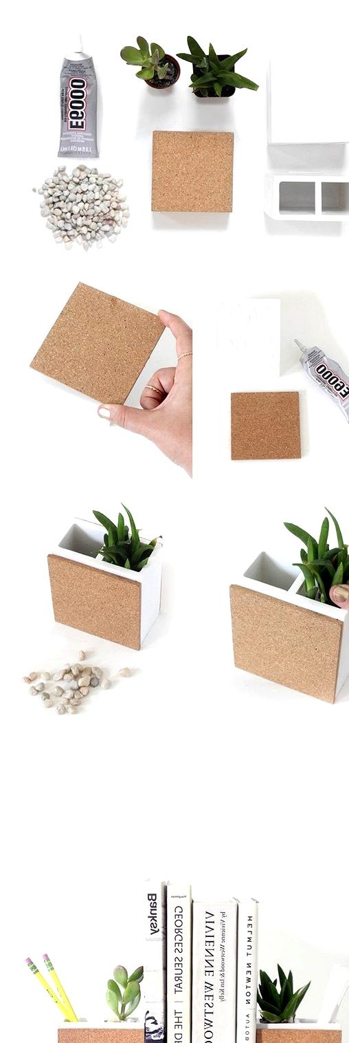create epic succulent planter bookends