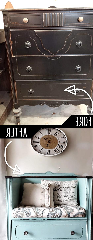 Unused-Old-Dresser-Turned-Bench