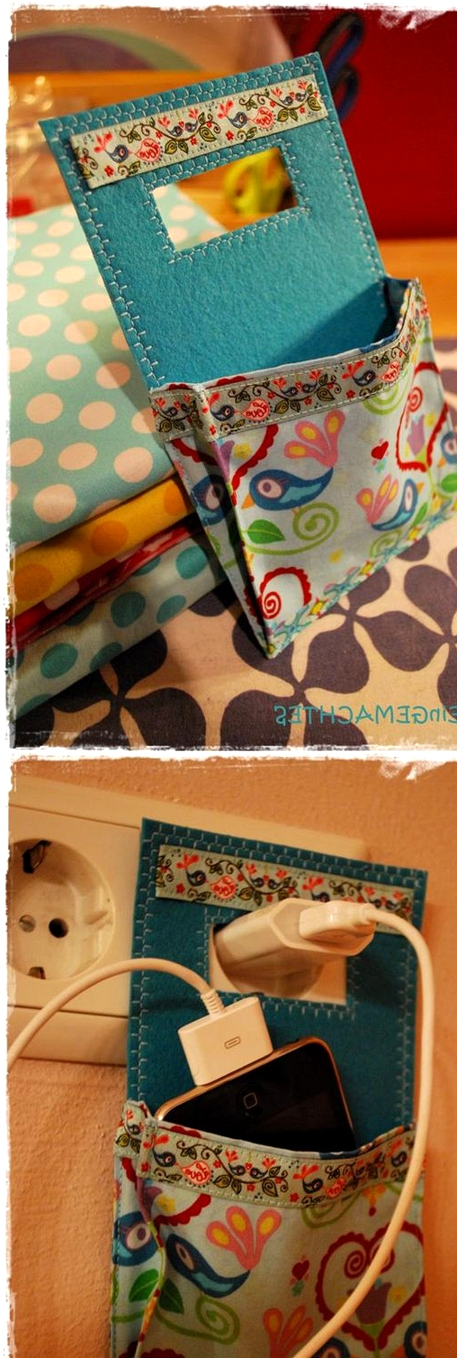 build a socket phone pouch