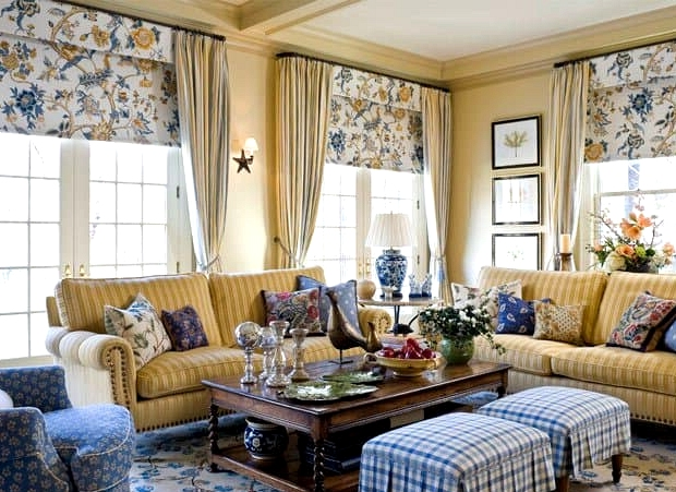 Refined and Chic French Living Room