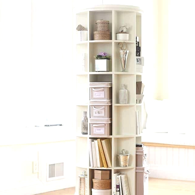 Get a Tall Revolving Bookcase