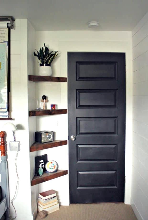 Build Floating Corner Shelves for Extra Storage