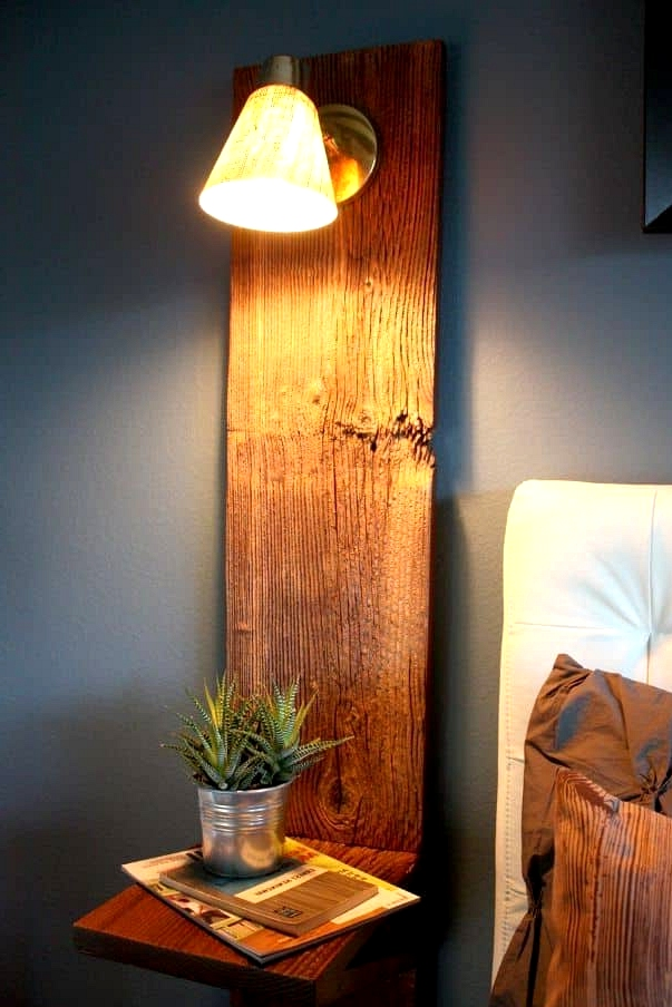 Build a Cute Wall-Mounted Night Stand