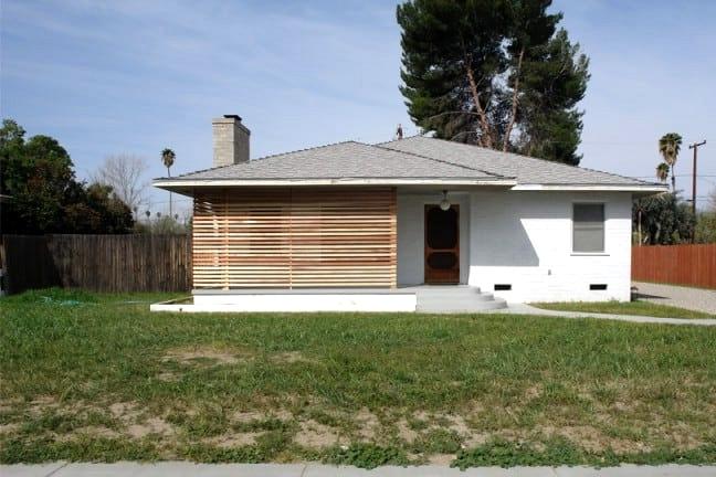 Slat Walls Are Elegant and Simple