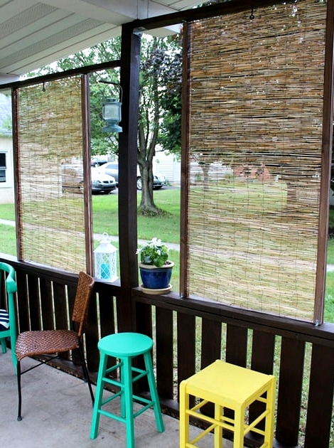 Let Light In With a Bamboo Screen
