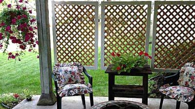 30 Intelligent and Fairly DIY Out of doors Privateness Screens