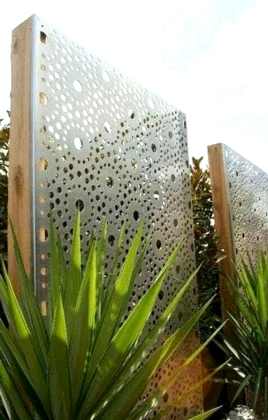 Look for a Privacy Screen With a Pattern