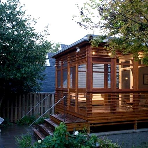 Create a Porch Cabin