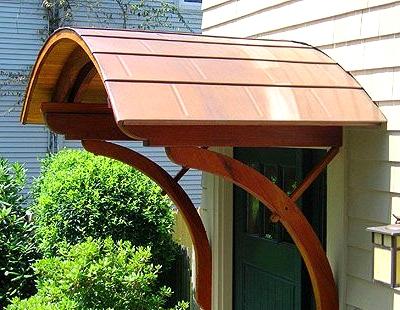 Arch Porch Roof for a Unique Look