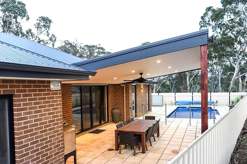 A Porch Roof that Stands Out