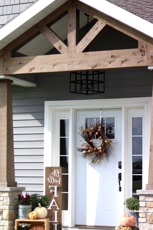 Gable Porch for a Traditional Home