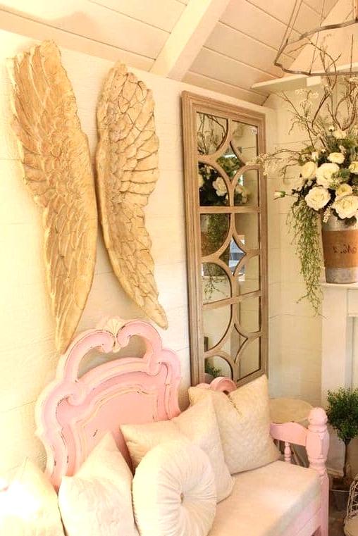 Shabby Chic Angel Wings