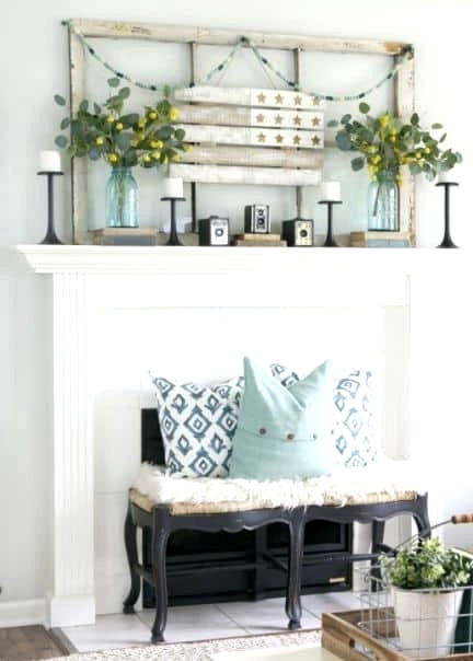 A Neat Shabby Chic Look